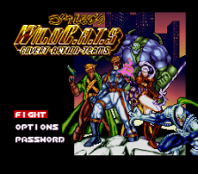Jim Lee's WildC.A.T.S title screenshot
