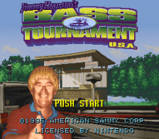 Jimmy Houston's Bass Tournament U.S.A. title screenshot