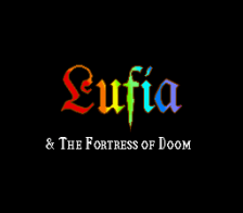 Lufia & The Fortress of Doom title screenshot