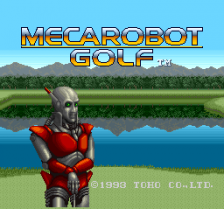 Mecarobot Golf title screenshot