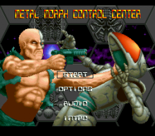 Metal Morph title screenshot