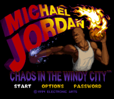Michael Jordan - Chaos in the Windy City title screenshot