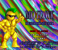 Mohawk & Headphone Jack title screenshot