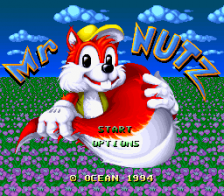 Mr. Nutz title screenshot