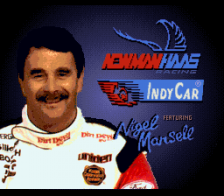 Newman Haas IndyCar featuring Nigel Mansell title screenshot