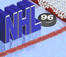 NHL '96 title screenshot