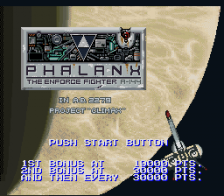 Phalanx - The Enforce Fighter A-144 title screenshot