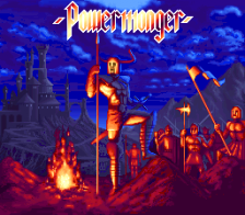PowerMonger title screenshot