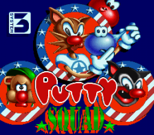 Putty Squad title screenshot