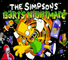 Simpsons, The - Bart's Nightmare title screenshot