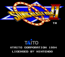 Sonic Blast Man II title screenshot
