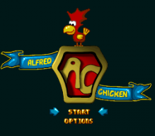 Super Alfred Chicken title screenshot