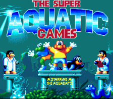 Super Aquatic Games - Starring the Aquabats title screenshot