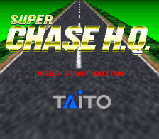 Super Chase H.Q. title screenshot