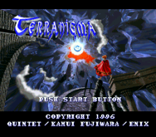 Terranigma title screenshot