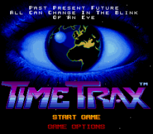 Time Trax title screenshot