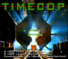 Timecop title screenshot