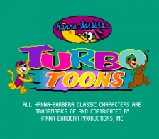 Turbo Toons title screenshot