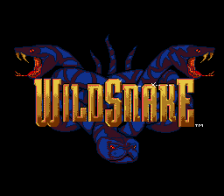 Wild Snake title screenshot