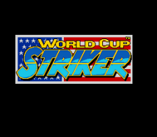 World Cup Striker title screenshot