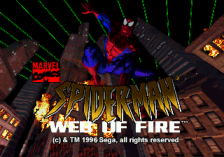 Amazing Spider-Man, The - Web of Fire title screenshot