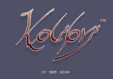 Kolibri title screenshot