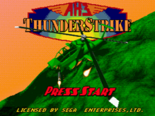 AH-3 Thunderstrike title screenshot