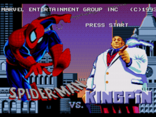 Amazing Spider-Man, The vs. The Kingpin title screenshot
