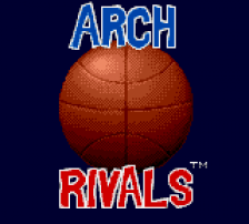 Arch Rivals title screenshot