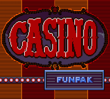 Casino Funpak title screenshot