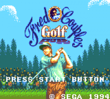 Fred Couples' Golf title screenshot