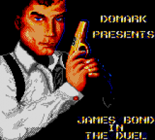 James Bond 007 - The Duel title screenshot