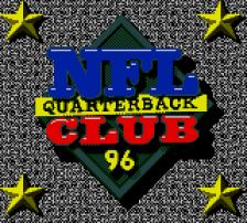NFL Quarterback Club '96 title screenshot