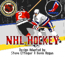 NHL Hockey title screenshot