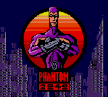 Phantom 2040 title screenshot