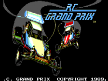 R.C. Grand Prix title screenshot