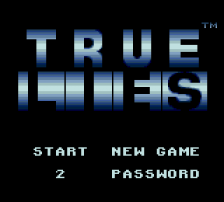 True Lies title screenshot