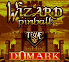 Wizard Pinball title screenshot