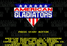 American Gladiators title screenshot