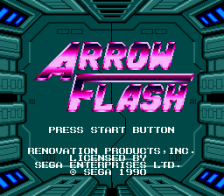 Arrow Flash title screenshot