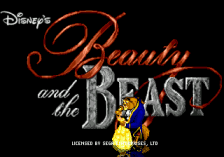 Beauty and the Beast - Belle's Quest title screenshot