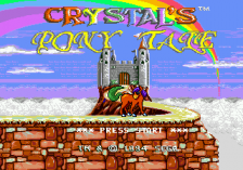 Crystal's Pony Tale title screenshot