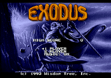 Exodus - Journey to the Promised Land title screenshot