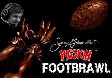 Jerry Glanville's Pigskin Footbrawl title screenshot