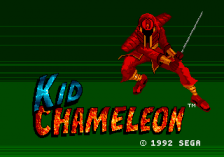 Kid Chameleon title screenshot