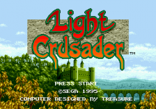 Light Crusader title screenshot