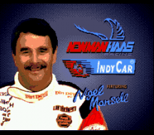 Newman Haas Indy Car Featuring Nigel Mansell title screenshot
