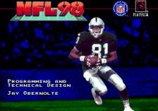 NFL 98 title screenshot
