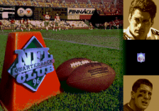 NFL Quarterback Club 96 title screenshot