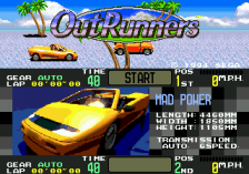 OutRunners title screenshot